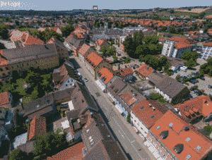 Teammakler Drohnenaufnahmen Vogelperspektive Luftaufnahmen Anwesen Neubauprojekte Gewerbeimmobilien