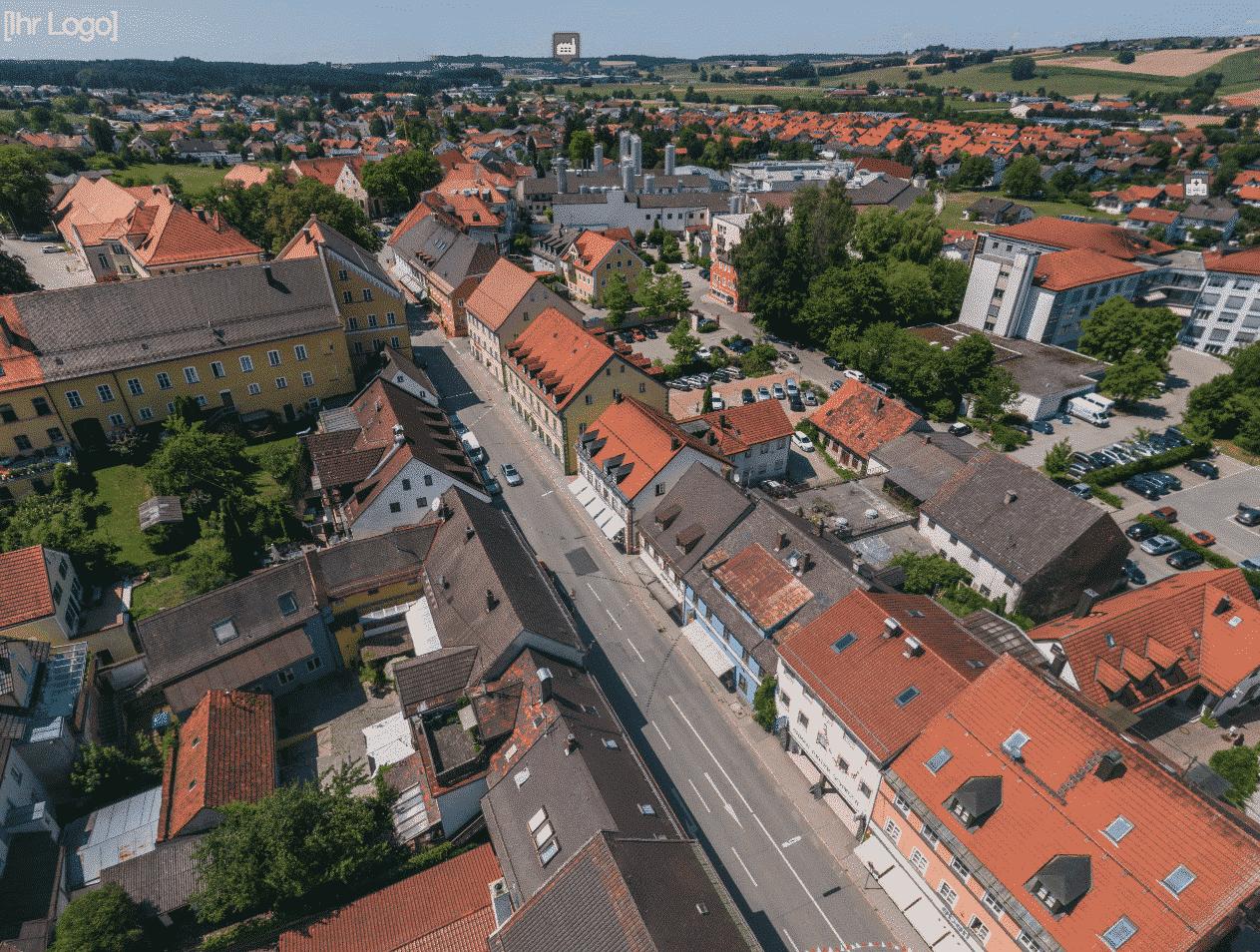 Teammakler Drohne Vogelperspektive Luftaufnahmen Anwesen Neubauprojekte Gewerbeimmobilien