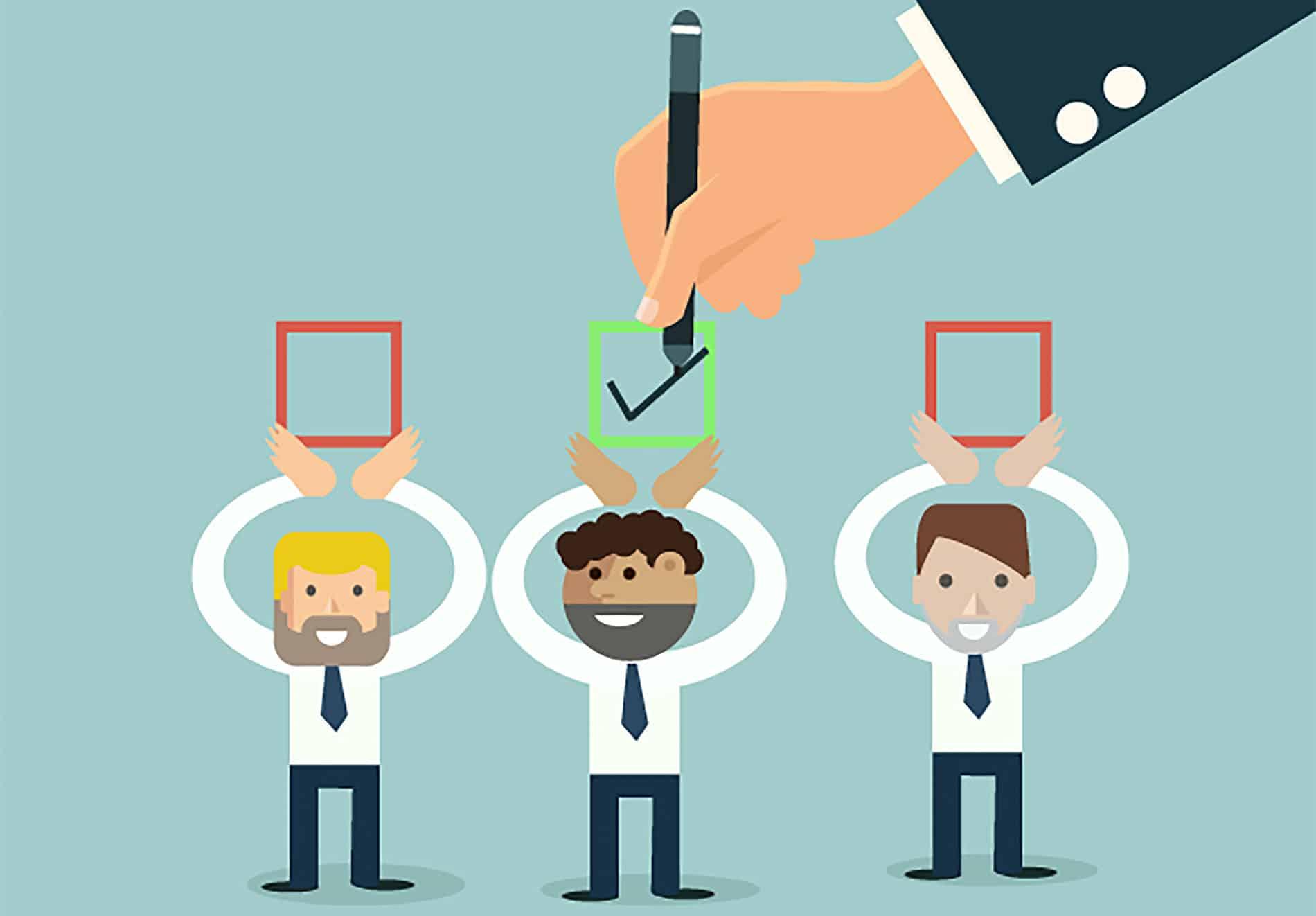 Interessenten lieber nicht direkt absagen. Teammakler