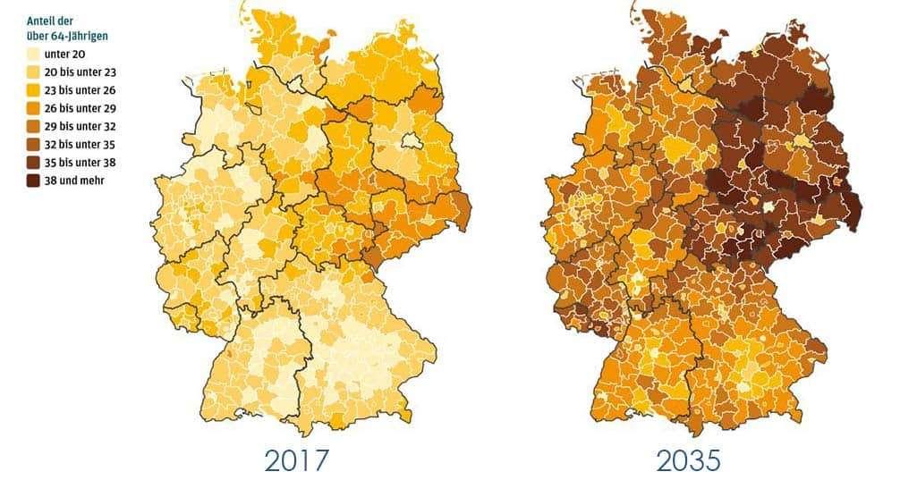 Teammakler Demographischer Wandel in Deutschland