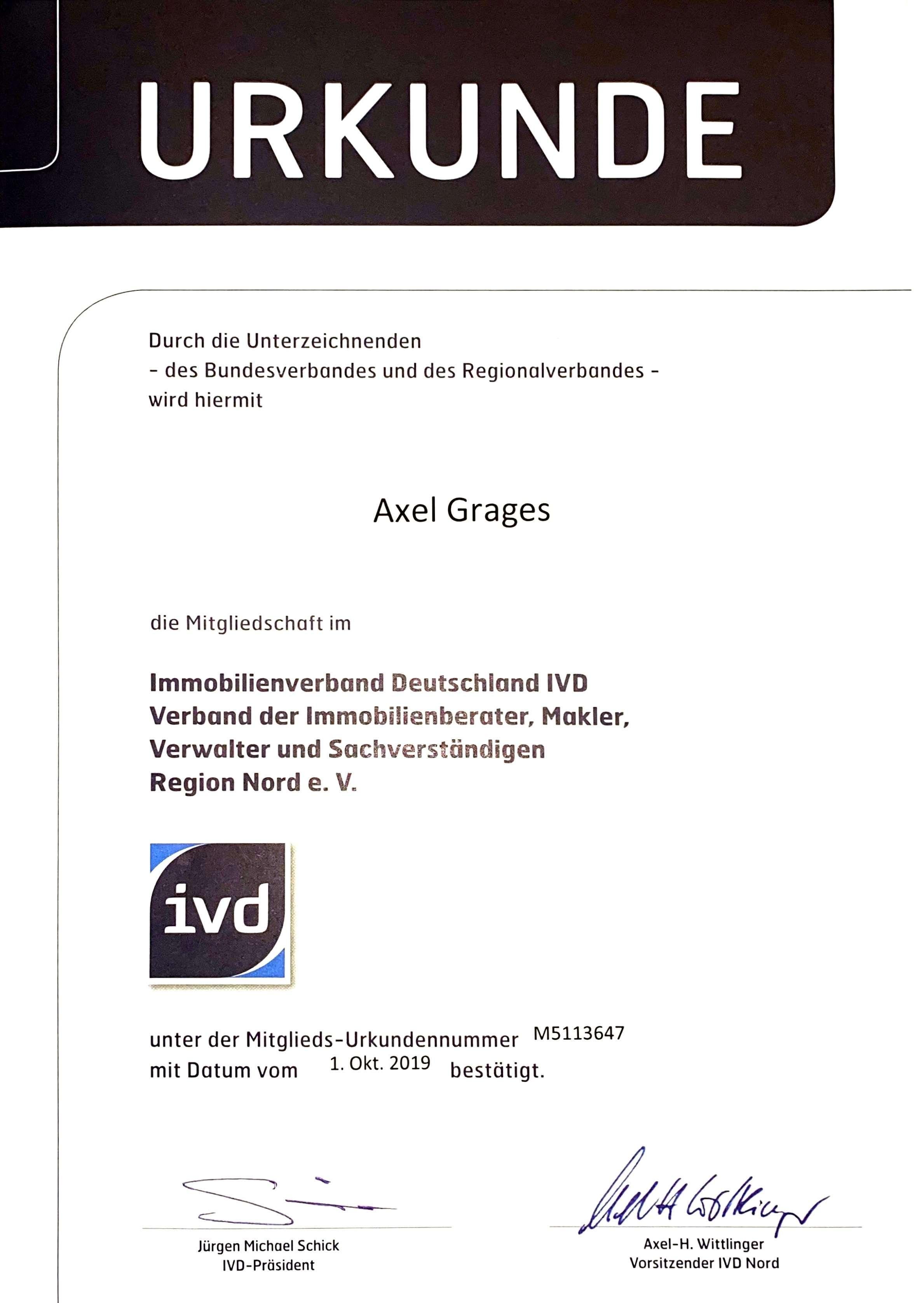 Teammakler Immobilien Mitglied im IVD