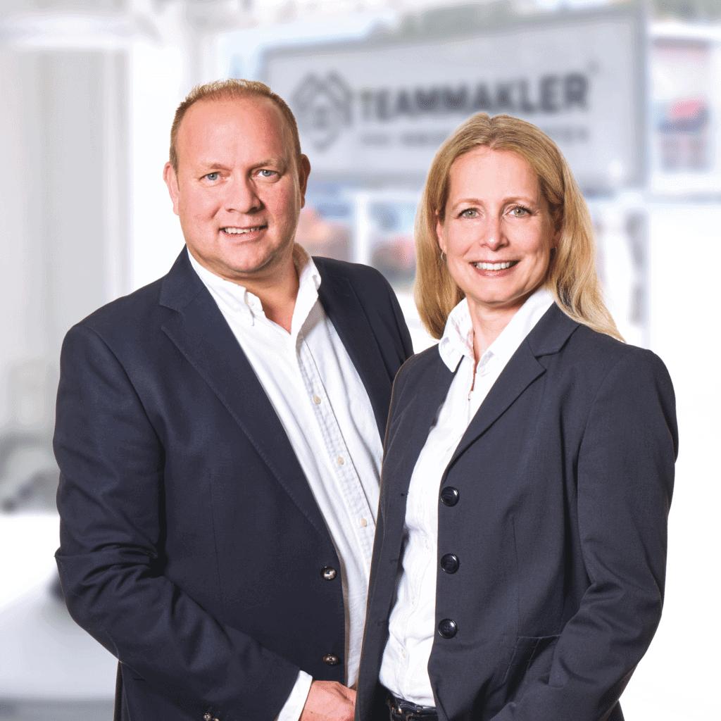 Cathrine und Axel Grages freuen sich auf die Bewertung Ihrer Immobilie