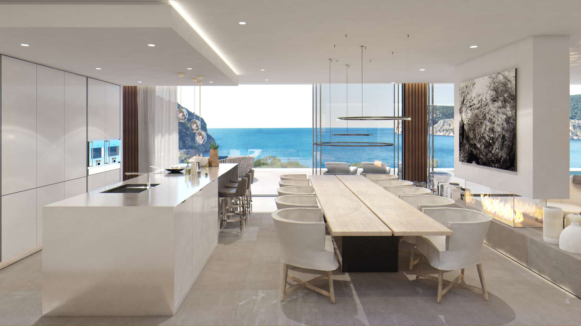 Küche Almendra Camp de Mar Mallorca